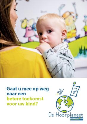Van Bun Communicatie & Vormgeving - Grafisch ontwerp -Brochure Hoorcentrum Aerts