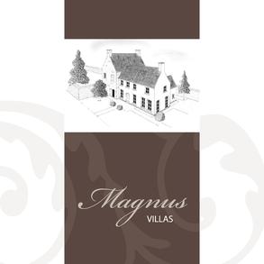 Van Bun Communicatie & Vormgeving - Grafisch ontwerp -Brochure Magnus Villas