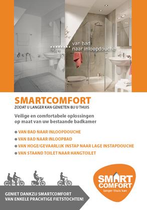 Van Bun Communicatie & Vormgeving - Grafisch ontwerp -Folder Smart Comfort