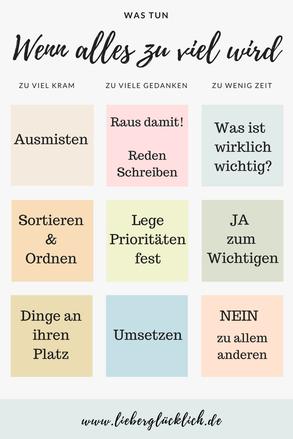 #lieberglücklich #Ausmisten #Minimalismus #Prioritäten #Gedanken #Ebook #Lebensberatung #Berlin