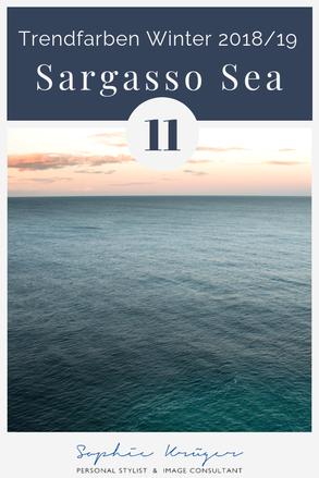 Sargasso Sea - kühle Basisfarbe für Sommertyp, Wintertyp