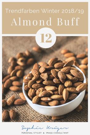 Almond Buff, warme Basisfarbe für den Frühlingstypen