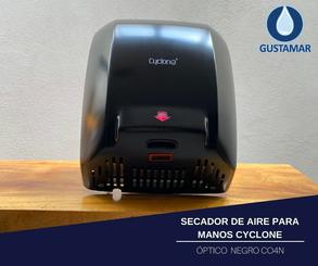 SECADOR DE MANOS / SECAMANOS CYCLONE ÓPTICO ACERO INOXIDABLE CO4N