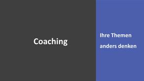 Coaching - Persönliches Beratungsgespräch