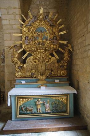 Retable église Saint Agapit