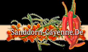 Sandocayenne - Produkte mit Sanddorn und mit Cayenne