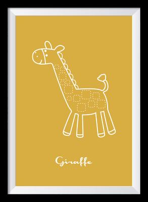 Illustration - Giraffe