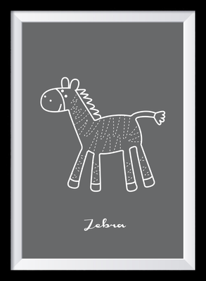 Illustration - Zebra