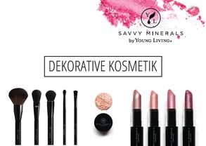 Dekorative Kosmetik Savvy Minerals von Young Living