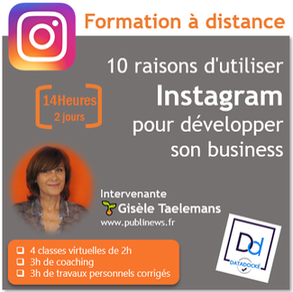 formation Instagram à distance