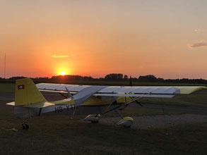 Ganderkesee Altlas Airfield EDWQ Sunset