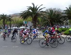 Départ dans Bastia avec Solange et Georges