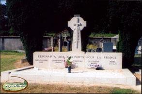 Tombe-Monument des cinq résistants de la mine de Leucamp.