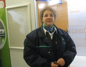 Evelyne, agent RATP et violoniste