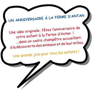 Fêter un anniversaire à la Ferme d'Antan à CREUSE