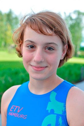 Gina-Marie Nonne (13 Jahre) spielt zum ersten Mal um die deutsche Meisterschaft.