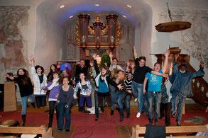 Formatiom CHOP-Ensemble 2011