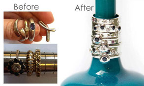Emma Hedley Bespoke Jewellery Before and After