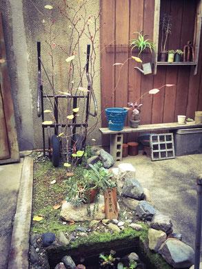 京町屋の中庭