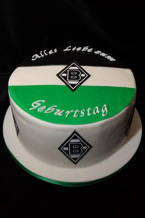 Borussen Torte Mönchengladbach grün schwarz