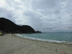 キス釣り 砂浜の写真