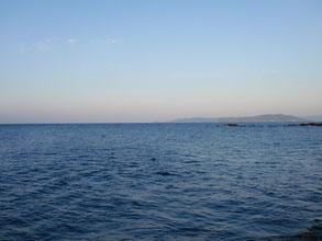 宇賀漁港からの風景