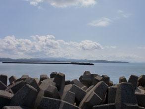 角島 尾山港