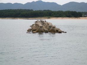 キス釣り場の写真