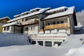 Hotel Arnica im Winter