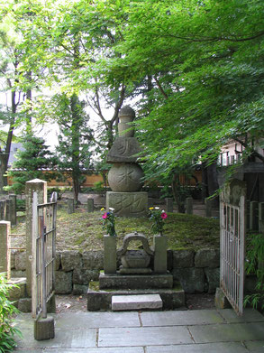 ▲蒲生氏郷墓所