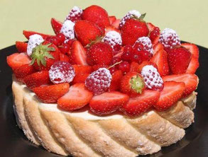 recette de la charlotte aux fruits rouges