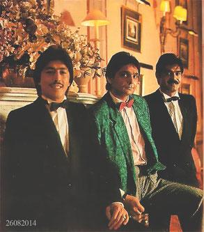 Los Chichos en 1987 en el Hotel Palace de Madrid
