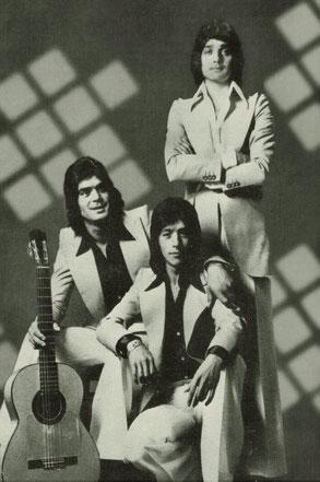 Los Chichos en una imagen de promoción 1973