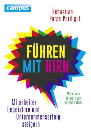 """Buchcover """"Führen mit Hirn"""" von Sebastian Purps-Pardigol"""