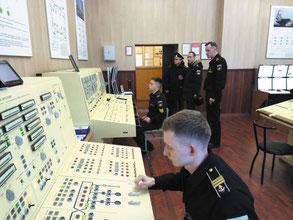 Тренажёр «Баксан» по управлению электроэнергетической системой корабля на кафедре электроэнергетических систем кораблей