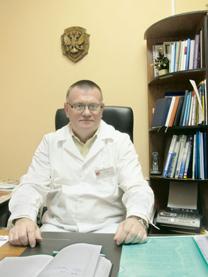 Главный врач станции скорой помощи в Пушкине Вячеслав Анатольевич Целиков
