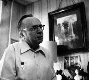 А. М. Кучумов в день вручения ему знака лауреата Ленинской премии СССР. 1986 г.