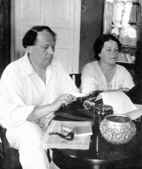 Алексей Толстой и Наталья Крандиевская. 1933 г.