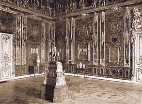 Янтарная комната. Фото 1910-х гг.
