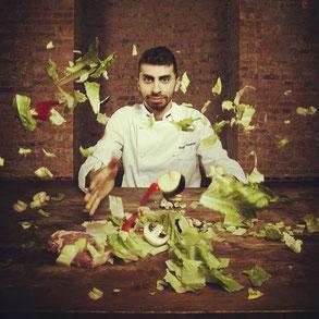 Шеф-повар ресторана Александр Богданов — настоящий волшебник