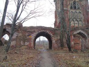 Вид павильона до реставрации