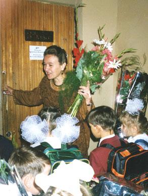Жизнь продолжается. 1 сентября 1994 года Надежда Андреевна встретила свой новый класс