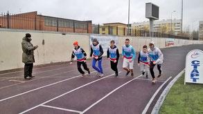 Спортивный клуб лицея № 408 на Спартакиаде молодёжи допризывного возраста