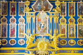 Восстановленный иконостас церкви