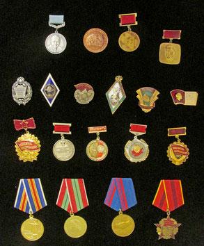 Советские, российские и зарубежные награды В. Е. Есипова