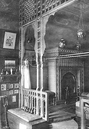 Александровский дворец. Зал с бассейном. Фото 1916 г.