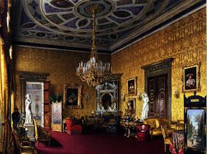 Л. Премацци. Лионский зал. Акварель, 1878 г.