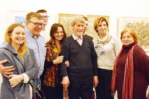 Владимир Табанин в кругу семьи