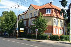 Здание первой комендатуры Кёнигсберга (1945–46 гг.). Фото автора