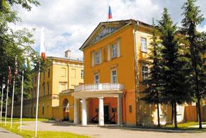 Главный корпус военного городка № 264 — Военно-морского политехнического института в Пушкине